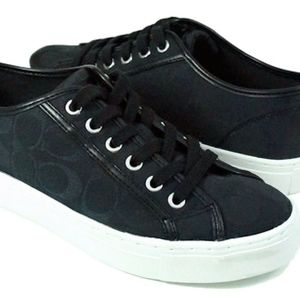 Coach Black Signature Sneakers
